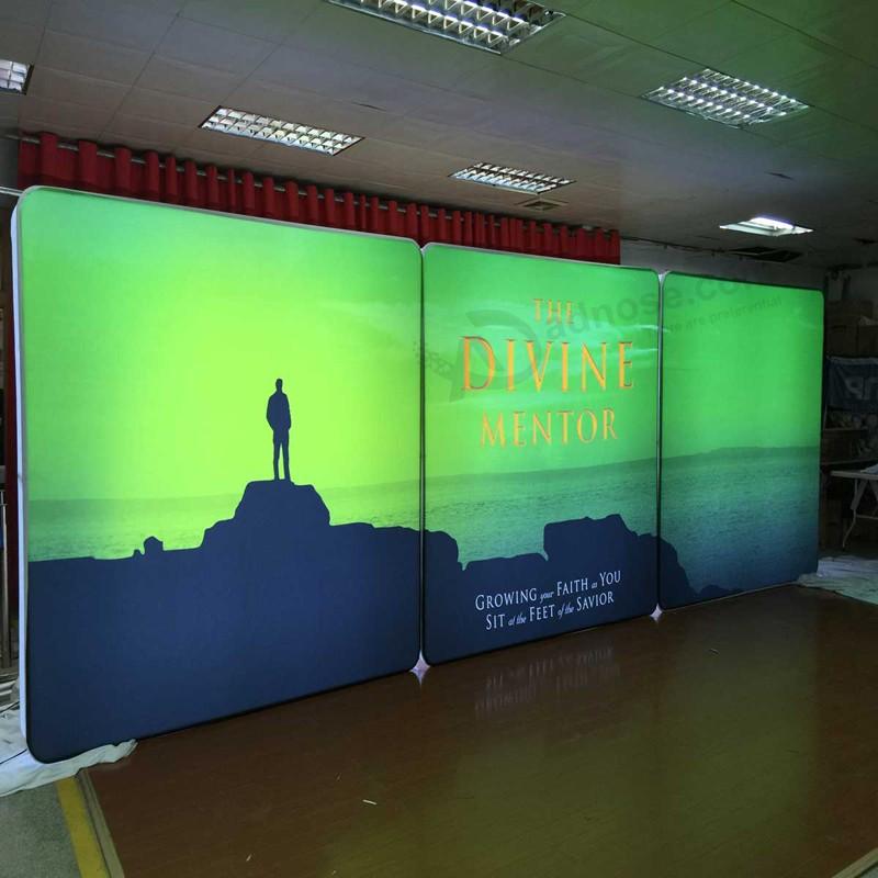 Tela de publicidad retroiluminada marco de luz de fondo caja de luz ...